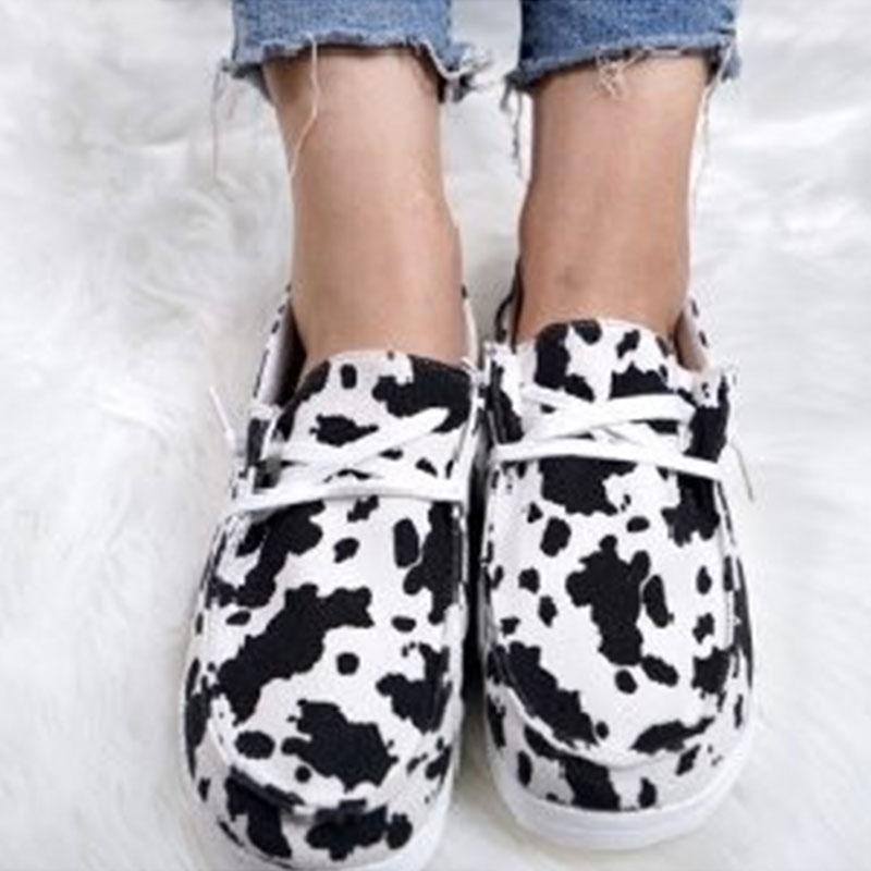 thumbnail 39 - Lady Women Pumps Slip On Flat Loafers Trainers Sneakers Casual Boat Shoes Size