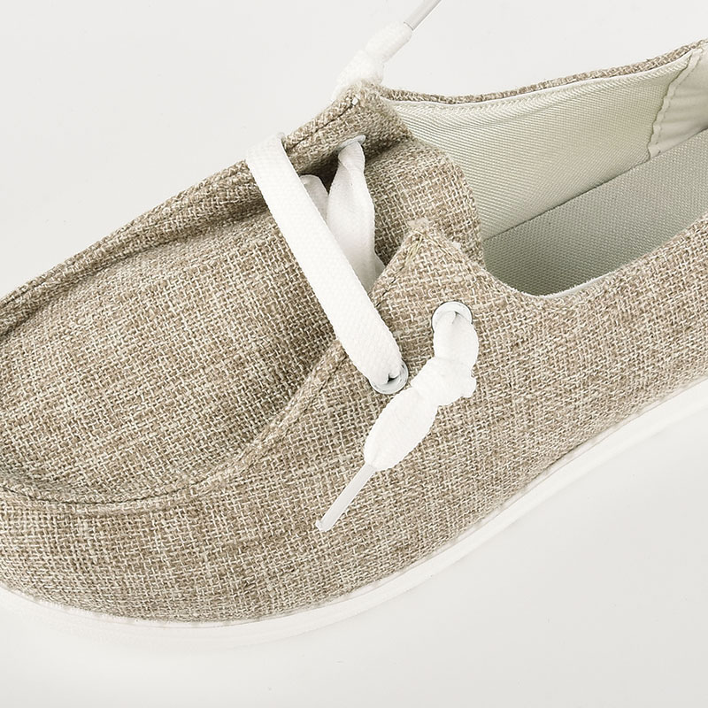 thumbnail 14 - Lady Women Pumps Slip On Flat Loafers Trainers Sneakers Casual Boat Shoes Size