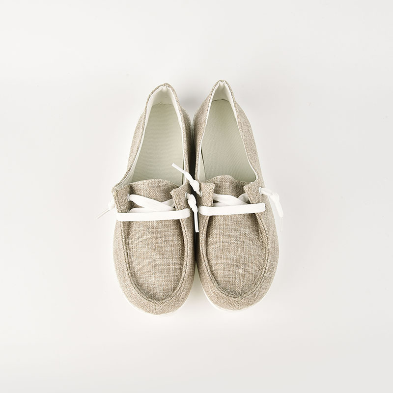 thumbnail 16 - Lady Women Pumps Slip On Flat Loafers Trainers Sneakers Casual Boat Shoes Size