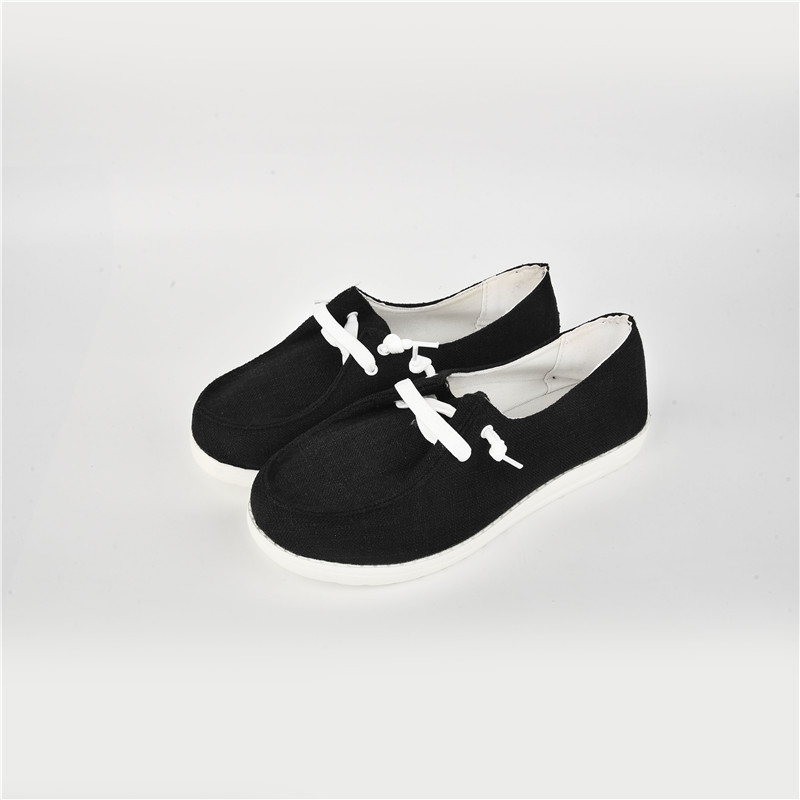 thumbnail 26 - Lady Women Pumps Slip On Flat Loafers Trainers Sneakers Casual Boat Shoes Size