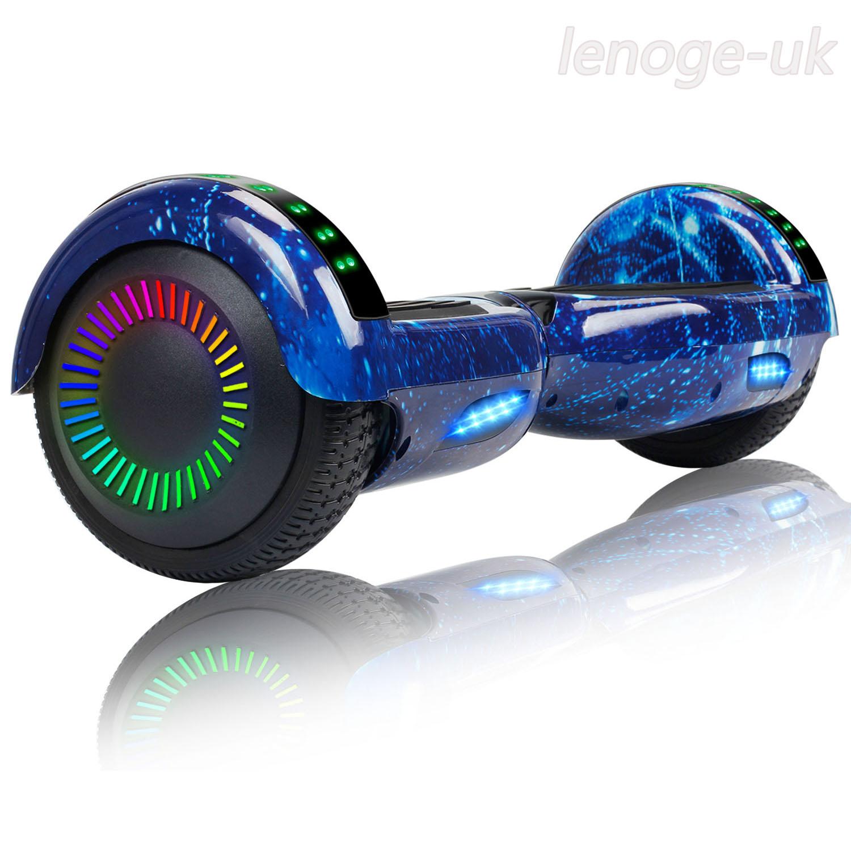 Off Road Hoverboard W/ Bluetooth Speaker Electric Self Balan