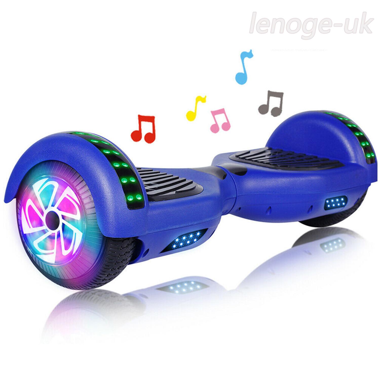 All Terrain Hoverboard Bluetooth 6.5'' LED Wheels Self Balan