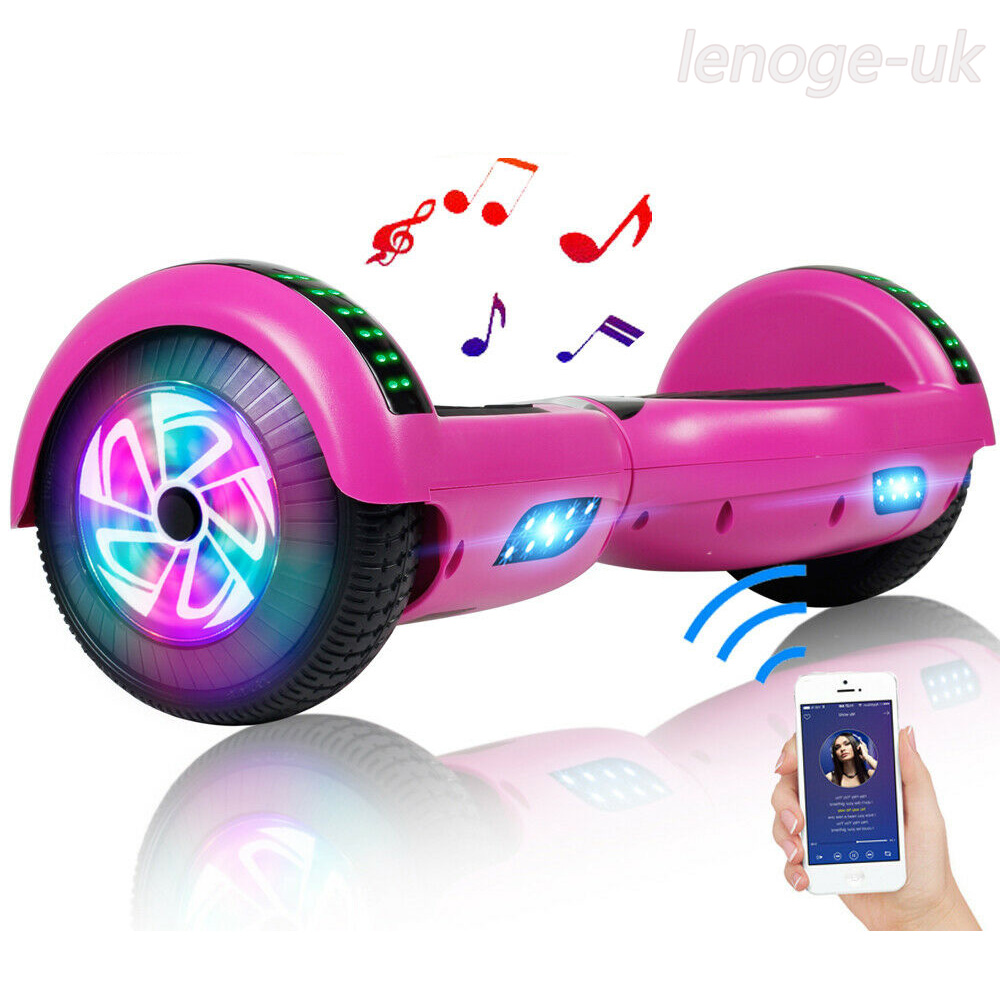 Bluetooth Hoverboad Electric Balancing Scooter W/ LED Lights