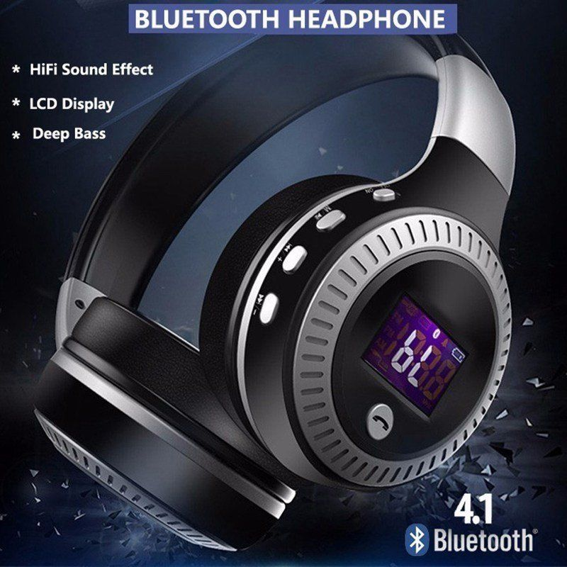 Wireless Headphone Noise Cancelling Bluetooth HiFi Bass Stereo Headset CANADA