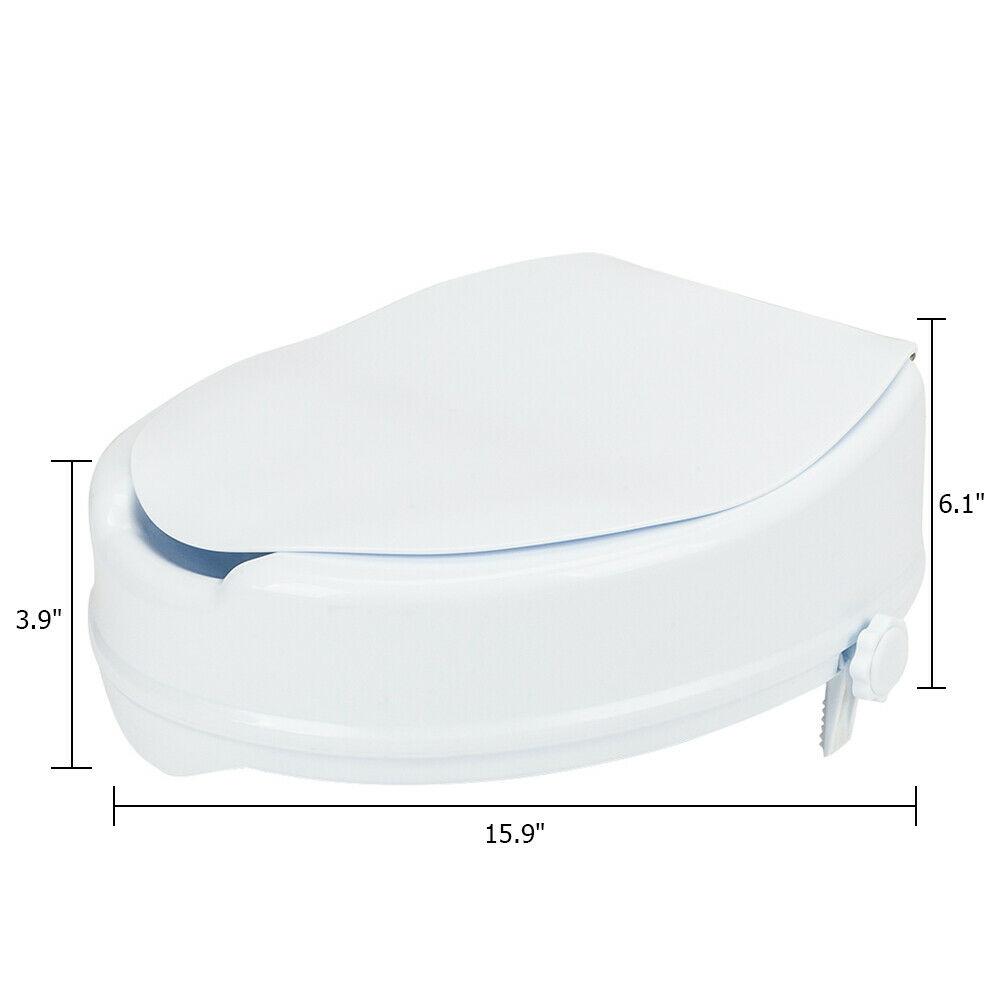 3 Inch Elongated Toilet Seat Riser
