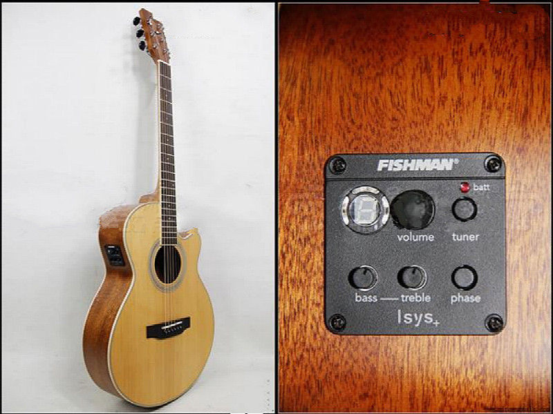 fishman isys onboard preamp phase eq led tuner pickup for acoustic guitar ebay. Black Bedroom Furniture Sets. Home Design Ideas
