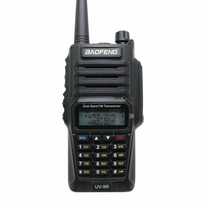 Baofeng-UV-9R-Waterproof-Handheld-Walkie-Talkie-Dual-Band-2-Way-Radios-Earpiece thumbnail 6