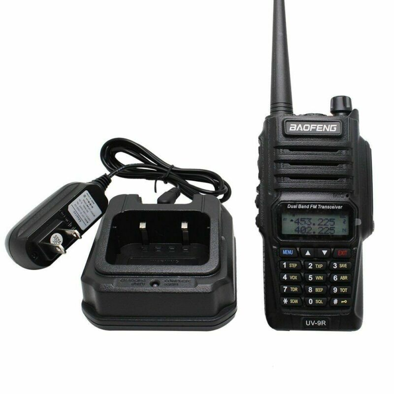 Baofeng-UV-9R-Waterproof-Handheld-Walkie-Talkie-Dual-Band-2-Way-Radios-Earpiece thumbnail 7