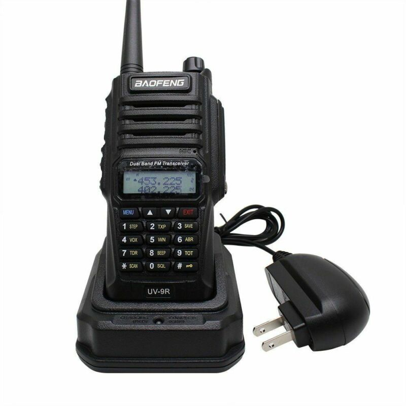 Baofeng-UV-9R-Waterproof-Handheld-Walkie-Talkie-Dual-Band-2-Way-Radios-Earpiece thumbnail 8