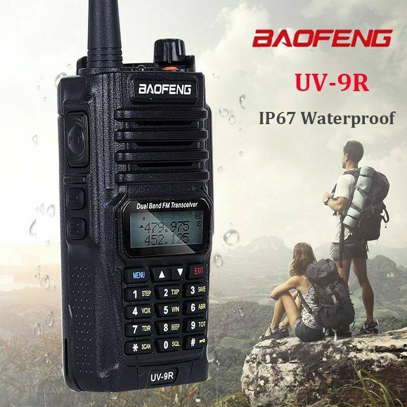 Baofeng-UV-9R-Waterproof-Handheld-Walkie-Talkie-Dual-Band-2-Way-Radios-Earpiece