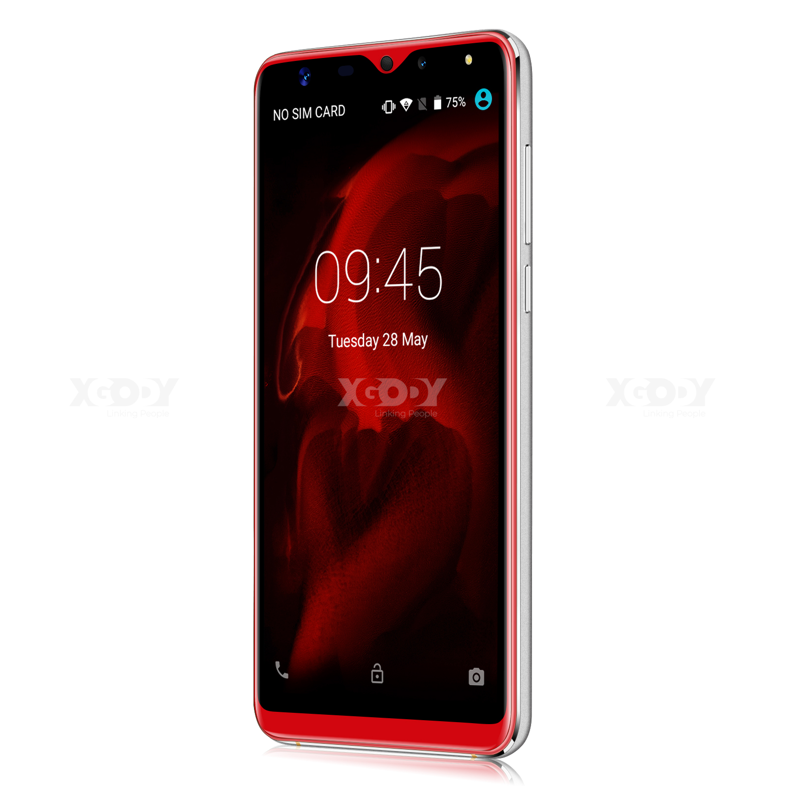 5.5'' Android 9.0 Quad Core Smartphone Dual Sim 3G Unlocked Cell Phone New XGODY 8