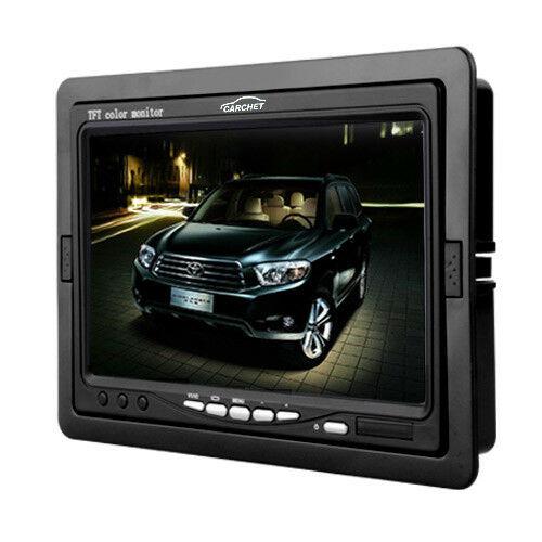 Carchet-17-8cm-TFT-LCD-Monitor-Auto-DVD-Tvcc-Vista-Posteriore-Inversa-Camera miniatura 3
