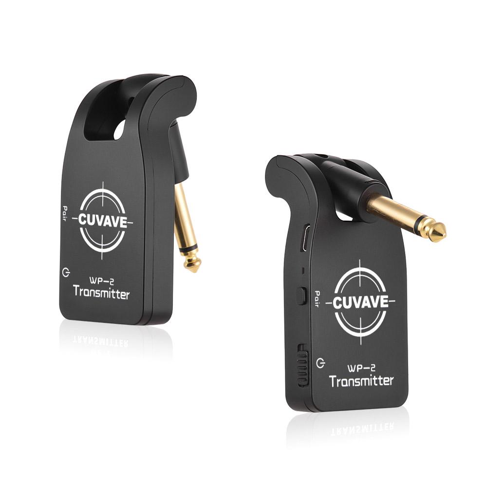 cuvave uhf wp 2 wireless guitar system transmitter receiver 50m transmission jn ebay. Black Bedroom Furniture Sets. Home Design Ideas