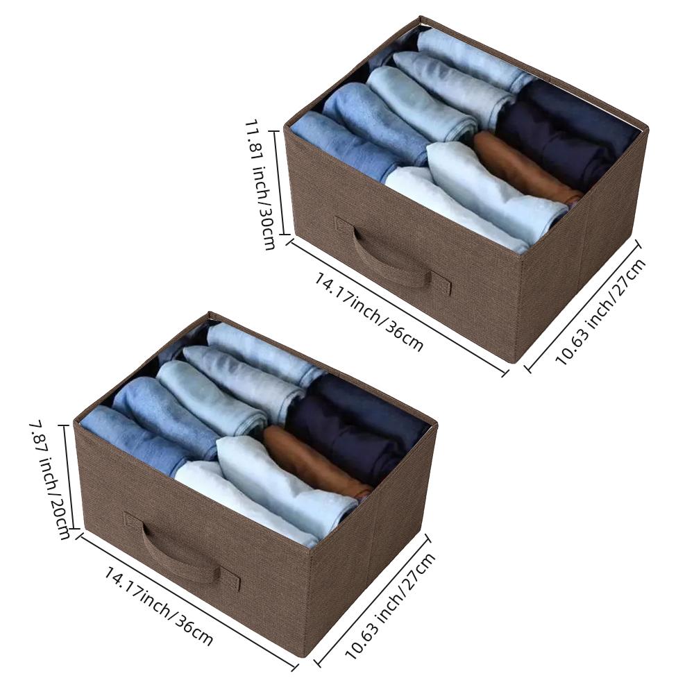 3-Layer-Drawer-Dresser-Storage-Unit-Shelf-Organizer-Bins-Chest-5-Fabric-Drawers miniature 24