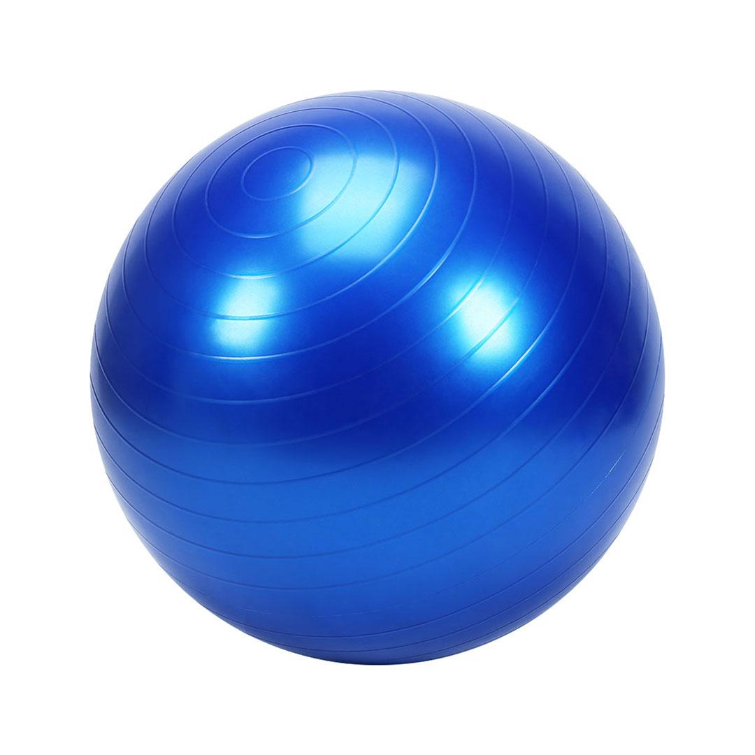 Balance Ball Blue: Yoga Ball Chair Balance Ball Chair With Back Support With