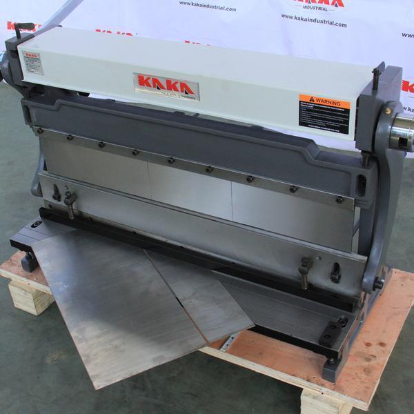 Kaka 30 Inch Sheet Metal Brake Shears And Slip Roll