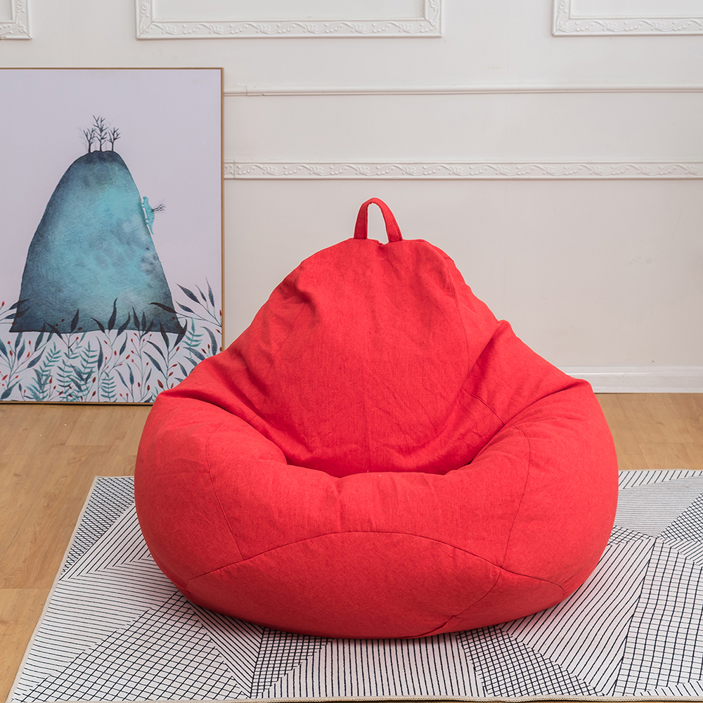 US Large Outdoor Comfy Bean Bag Chair Lazy Lounger Bean ...