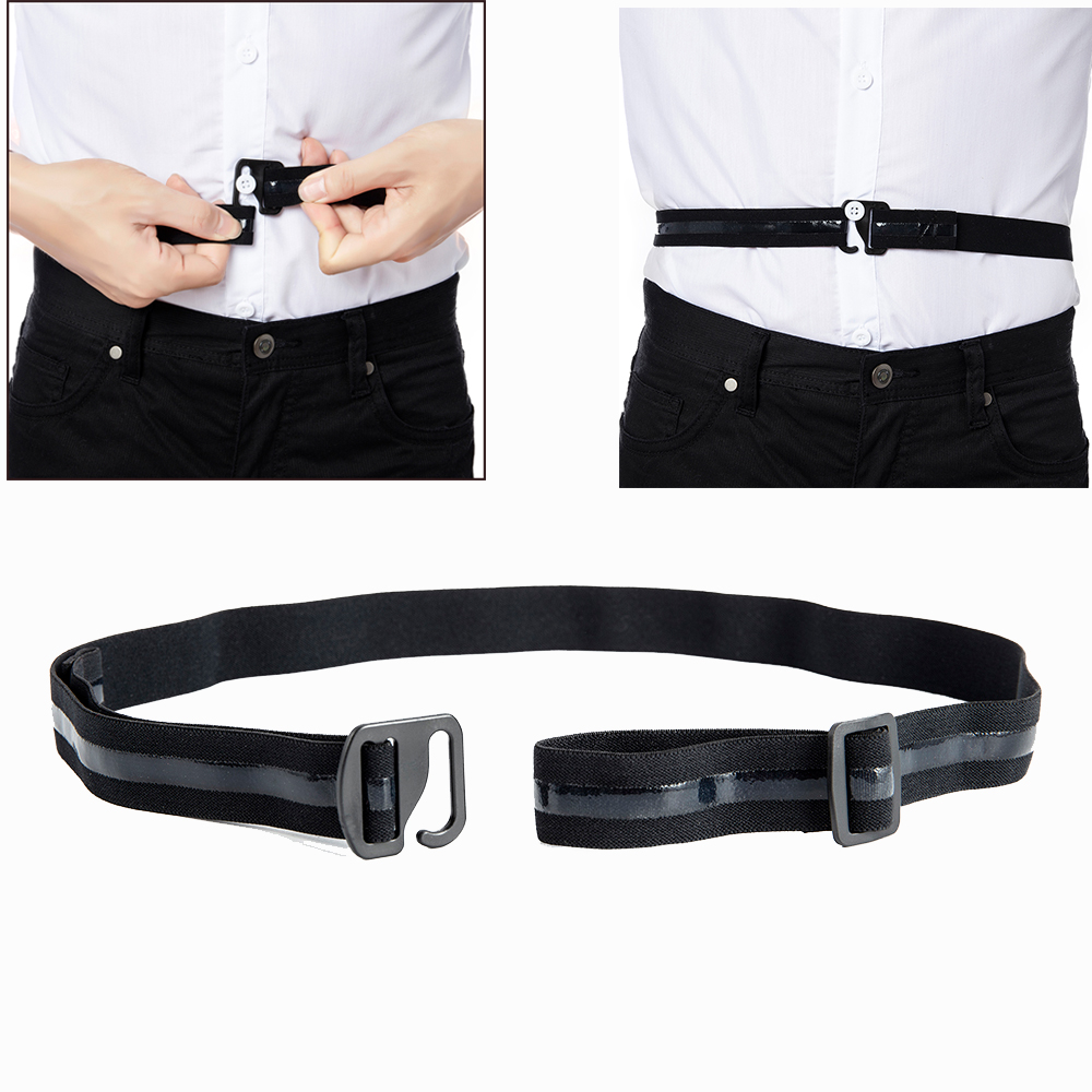 HOT-Fashion-Mens-Automatic-Buckle-Belt-Waist-Ratchet-Belts-Black-Waistband-112cm