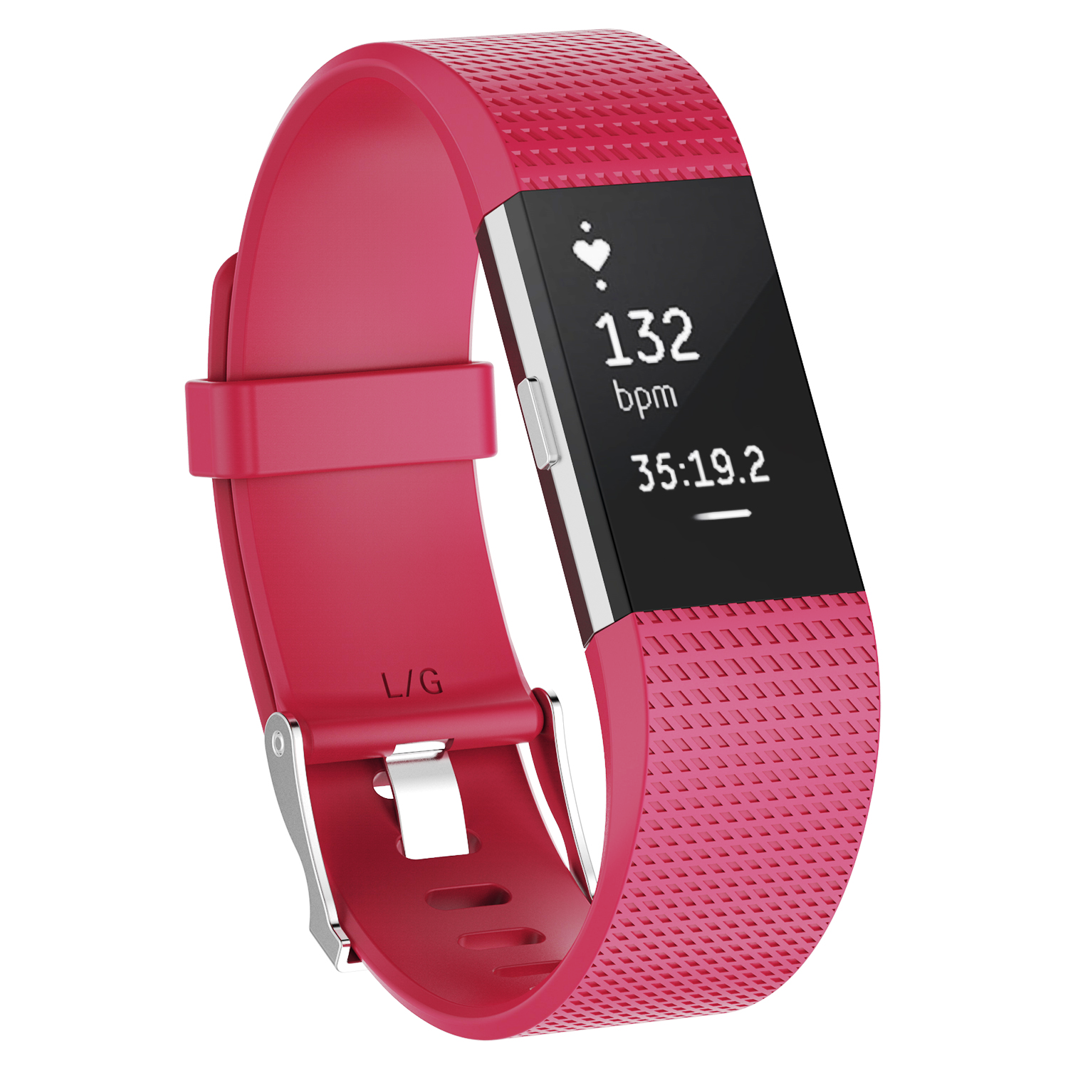 Replacement-Silicone-Wristband-Watch-Strap-Bands-Bracelet-For-Fitbit-Charge-2 thumbnail 45