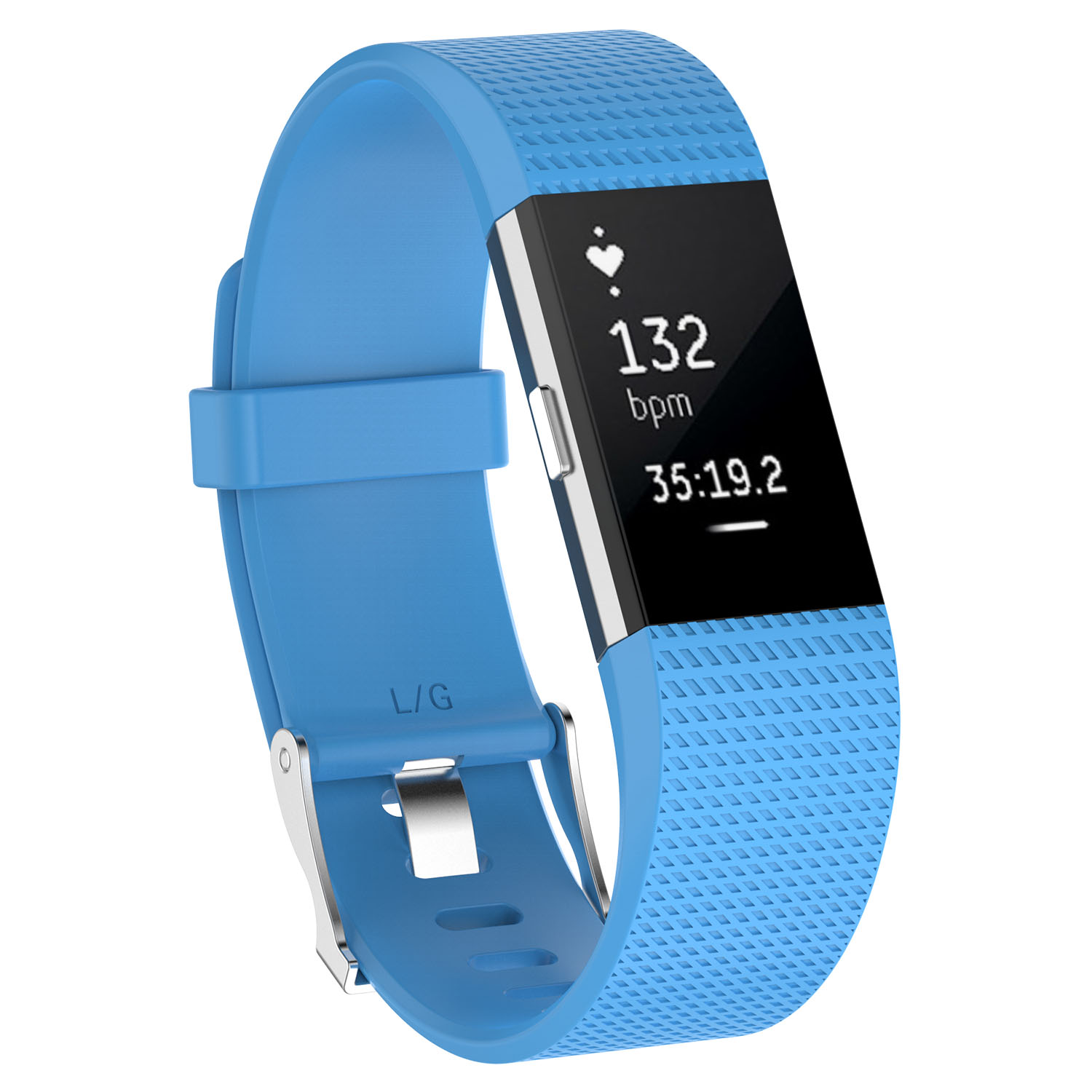 Replacement-Silicone-Wristband-Watch-Strap-Bands-Bracelet-For-Fitbit-Charge-2 thumbnail 72