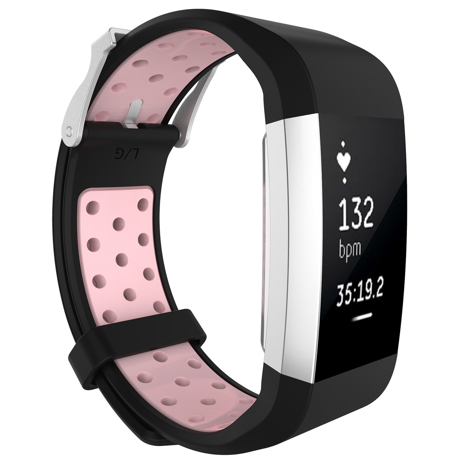 Replacement-Silicone-Wristband-Watch-Strap-Bands-Bracelet-For-Fitbit-Charge-2 thumbnail 78