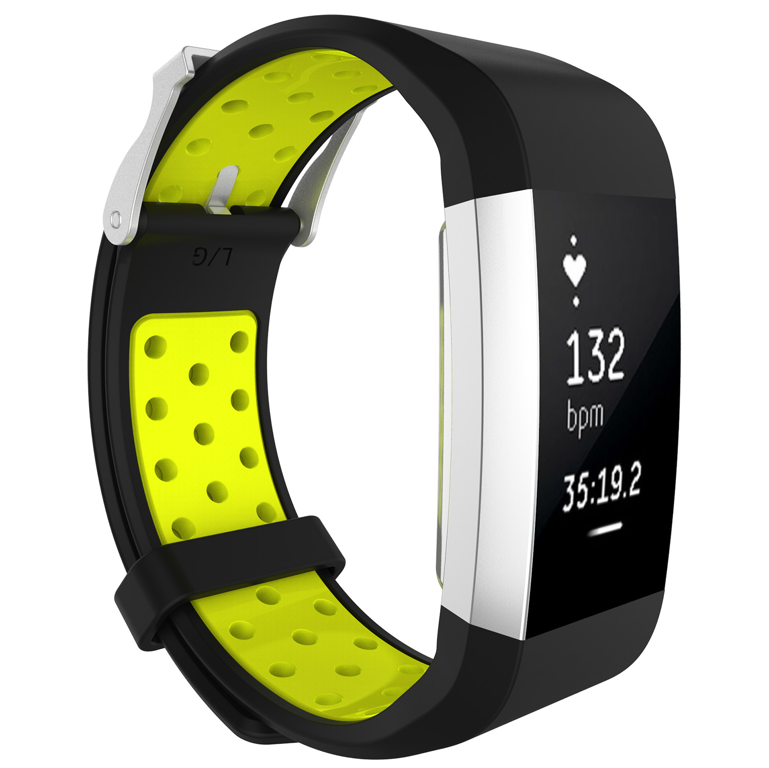 Replacement-Silicone-Wristband-Watch-Strap-Bands-Bracelet-For-Fitbit-Charge-2 thumbnail 81