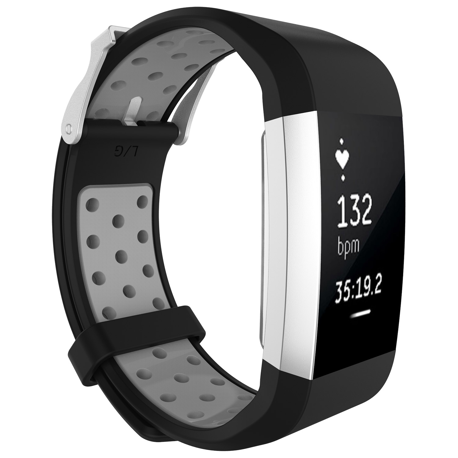 Replacement-Silicone-Wristband-Watch-Strap-Bands-Bracelet-For-Fitbit-Charge-2 thumbnail 84