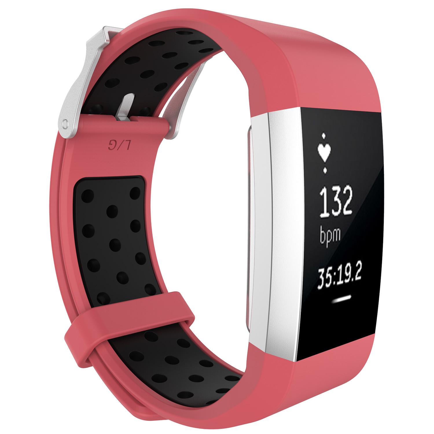 Replacement-Silicone-Wristband-Watch-Strap-Bands-Bracelet-For-Fitbit-Charge-2 thumbnail 87