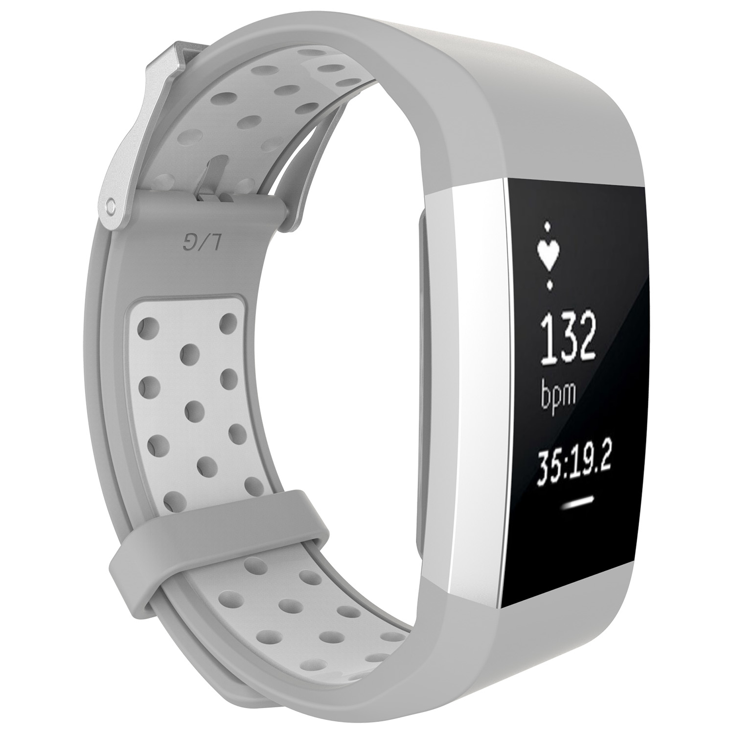 Replacement-Silicone-Wristband-Watch-Strap-Bands-Bracelet-For-Fitbit-Charge-2 thumbnail 90