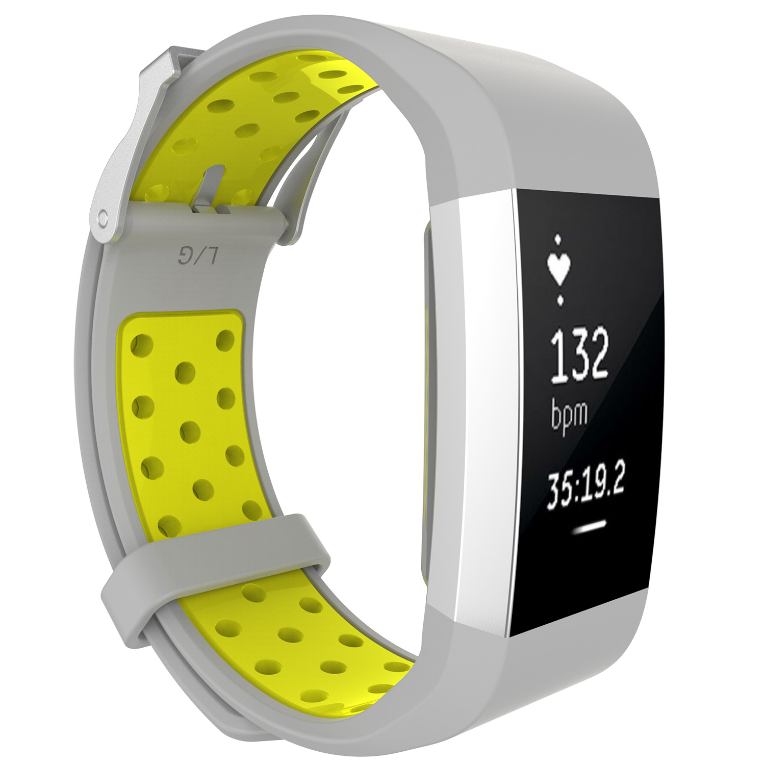 Replacement-Silicone-Wristband-Watch-Strap-Bands-Bracelet-For-Fitbit-Charge-2 thumbnail 92