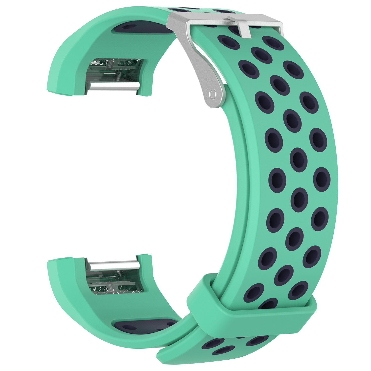 Replacement-Silicone-Wristband-Watch-Strap-Bands-Bracelet-For-Fitbit-Charge-2 thumbnail 95