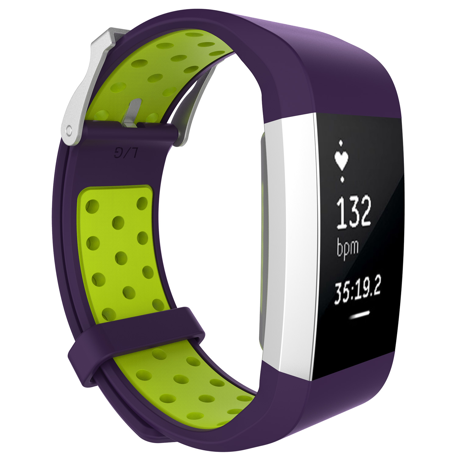 Replacement-Silicone-Wristband-Watch-Strap-Bands-Bracelet-For-Fitbit-Charge-2 thumbnail 101