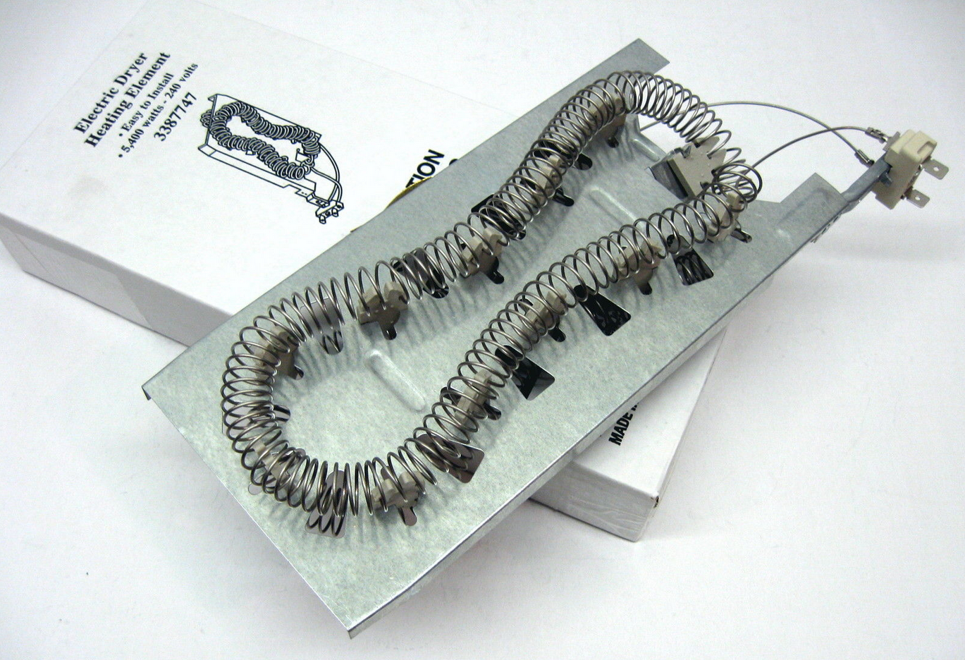 Dryer Heating Element for Whirlpool Kenmore 3387747 WP3387747 AP6008281  PS117414