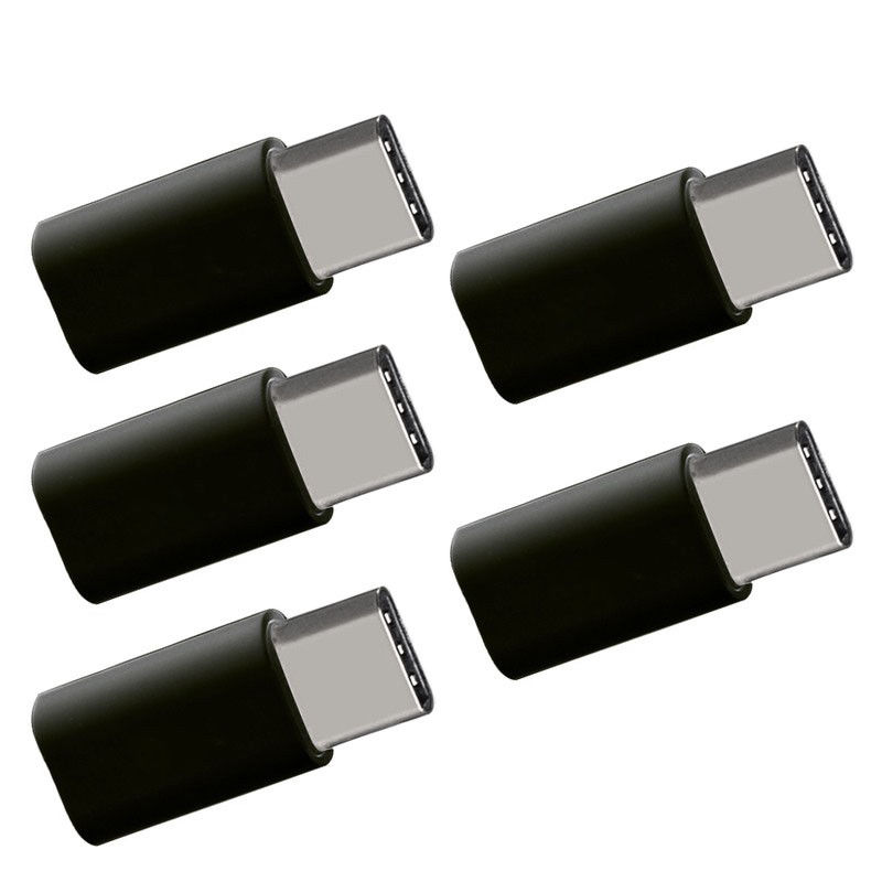 Micro-USB-Female-to-Type-C-Male-Adapter-Converter-Micro-B-to-USB-C-Connector-5X thumbnail 6