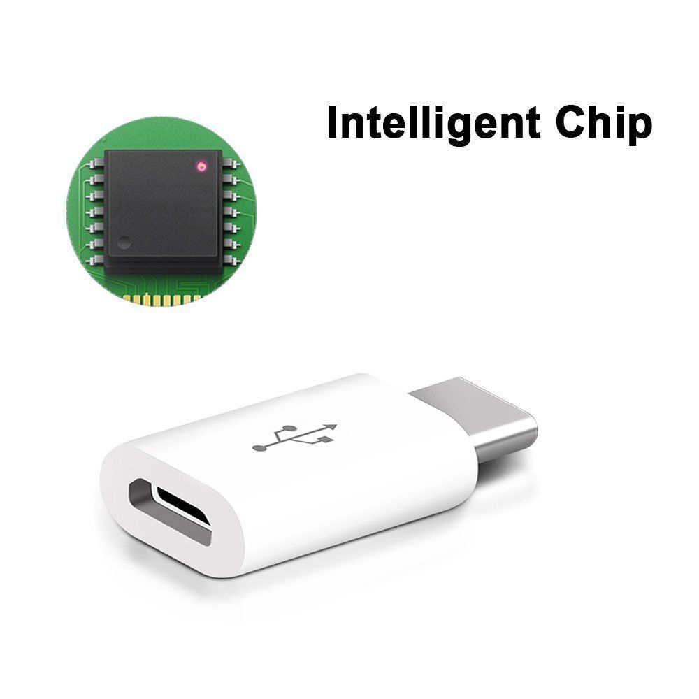 Micro-USB-Female-to-Type-C-Male-Adapter-Converter-Micro-B-to-USB-C-Connector-5X thumbnail 10