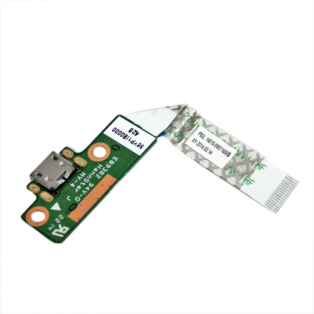 GinTai USB Charger Power Button Board Cable Replacement for ASUS Series P92L 14010-00071600 E89382