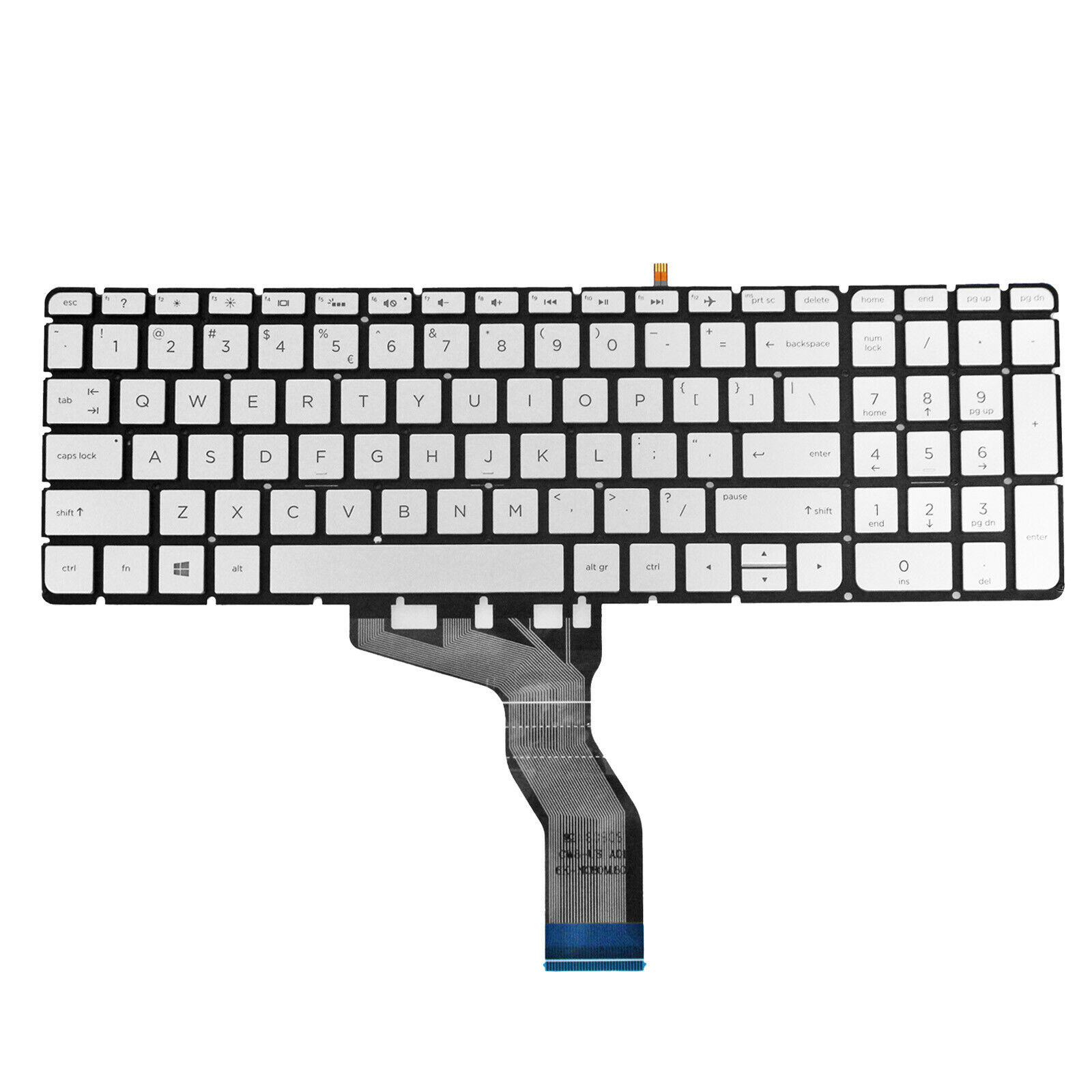 GinTai US Keyboard Replacement for Dell Vostro 15-3546 15-3549 15-3559 US Stock