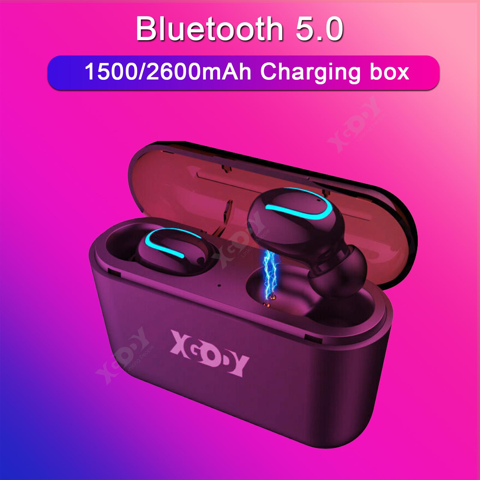 XGODY Q32 Waterproof Mini True Bluetooth Earbud Wireless Hea