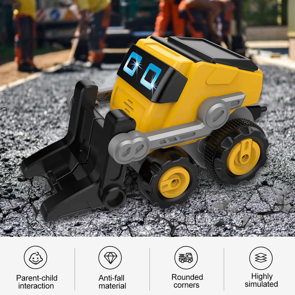 RC Robot Toy Smart Remote Control Intelligent Engineering Vehicle Kid Gifts
