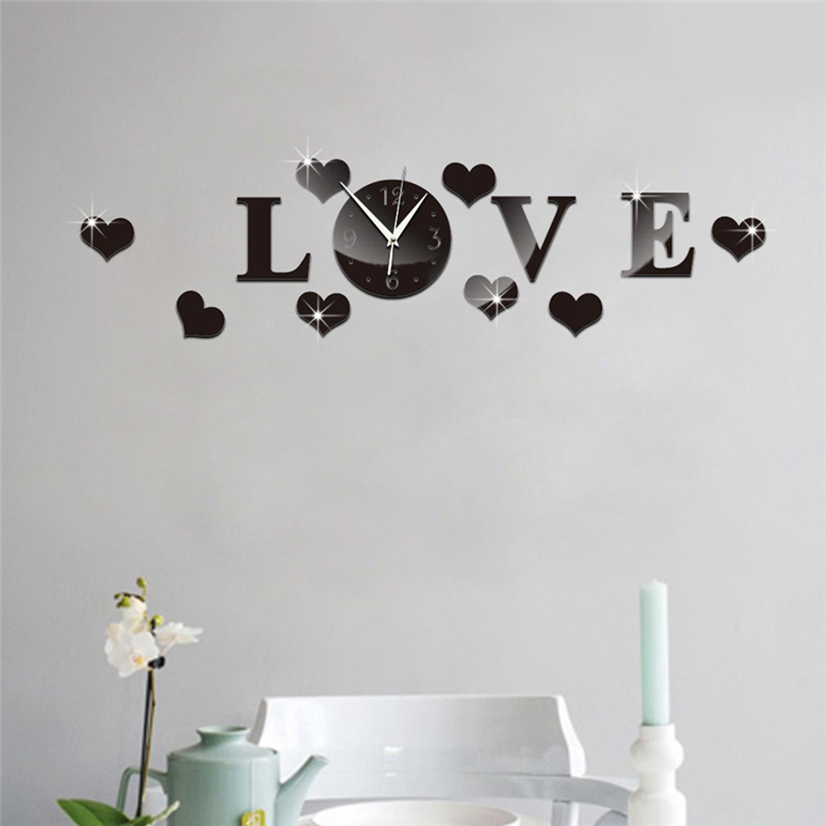 Removable-Mirror-Decal-Art-Mural-Wall-Stickers-Home-Decor-DIY-Room-Decoration thumbnail 14