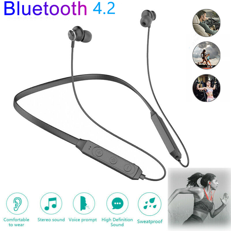 Waterproof-Bluetooth-V5-0-Headsets-Best-Wireless-For-Sports-Running-Gym-Workout miniature 5