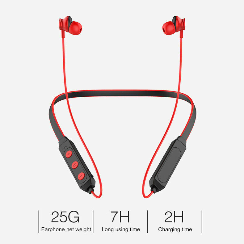 Waterproof-Bluetooth-V5-0-Headsets-Best-Wireless-For-Sports-Running-Gym-Workout miniature 8