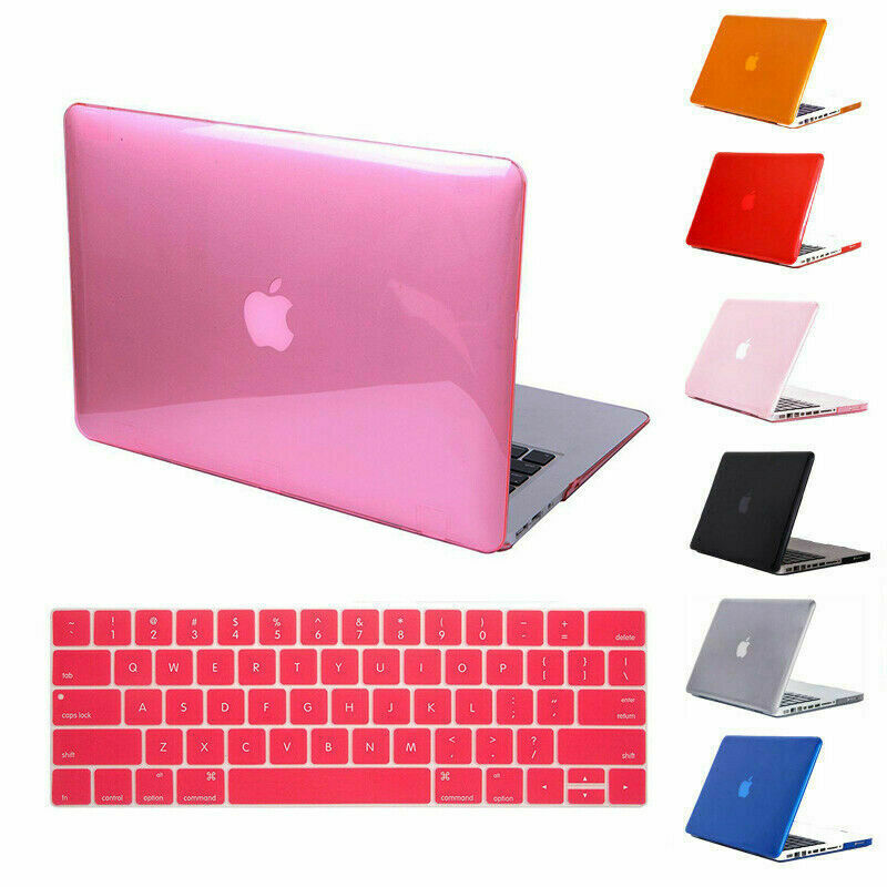 Hard Shell Case Cover + Keyboard Skin For Apple MacBook Pro