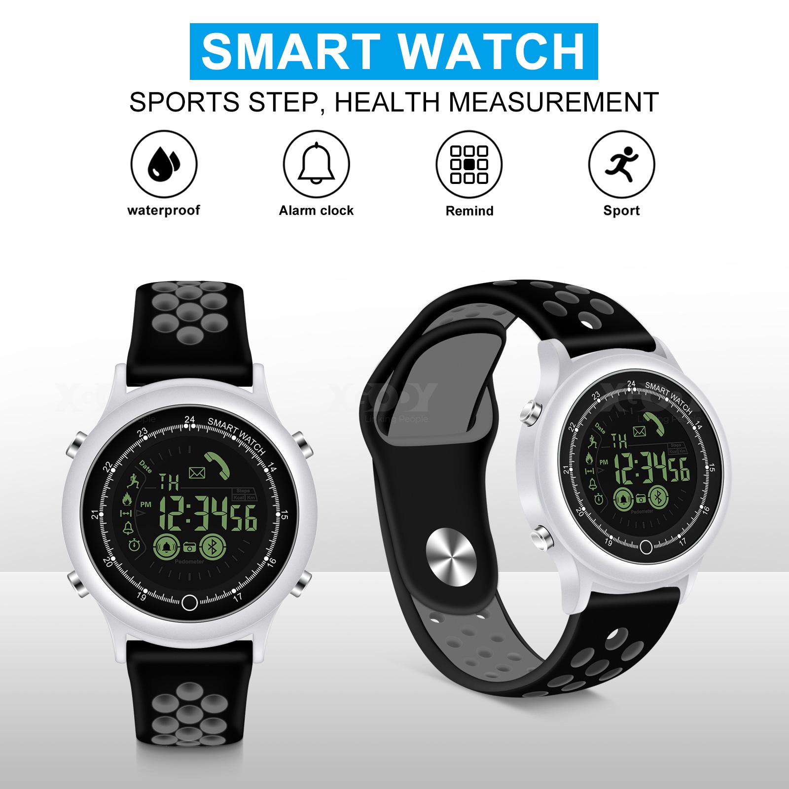 XGODY Waterproof Smart Watch Stopwatch Swimming Fitness Trac