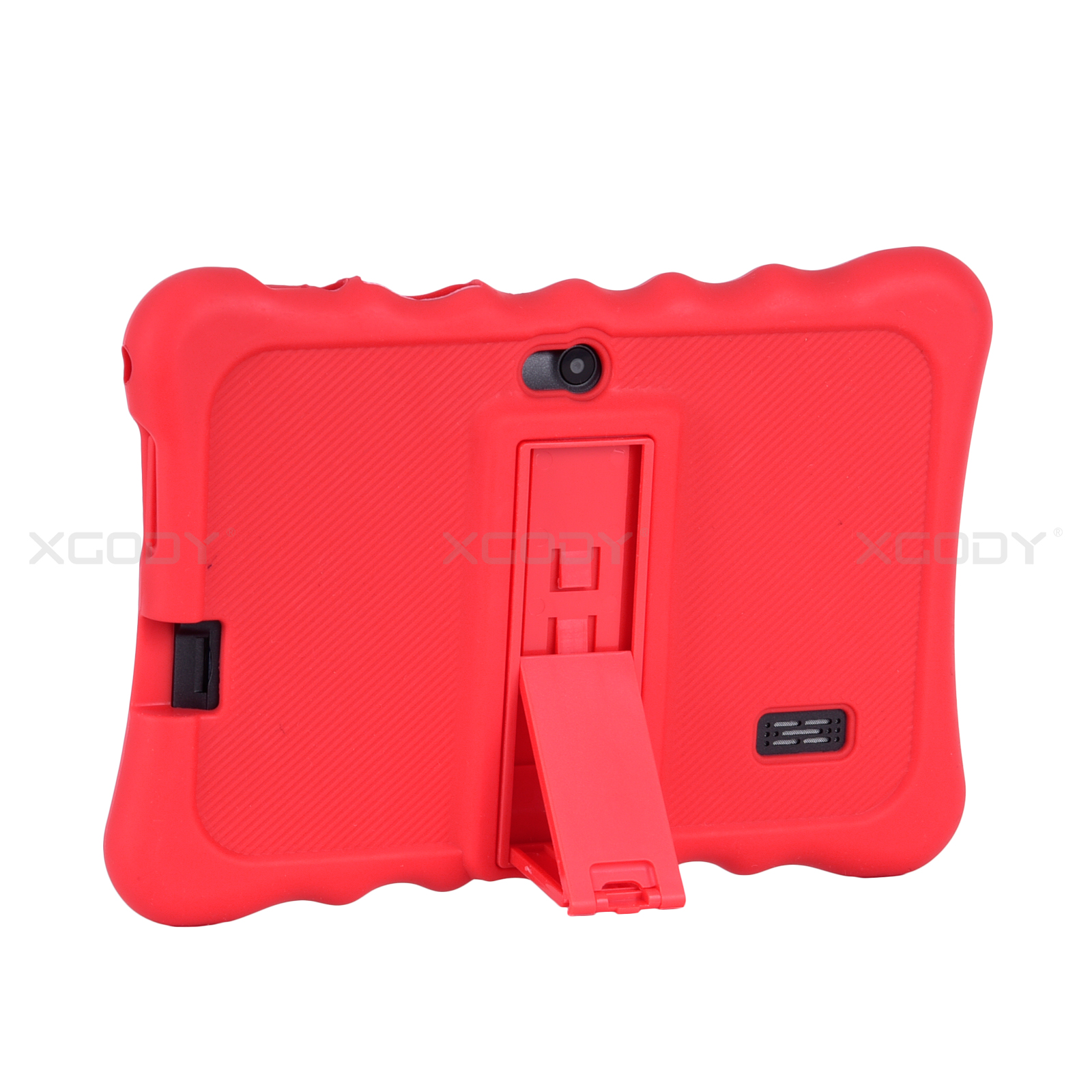 miniature 14 - For 7 inch Tablet Silicone Tablet Case Waterproof Shockproof Stand Cheap 4 Color