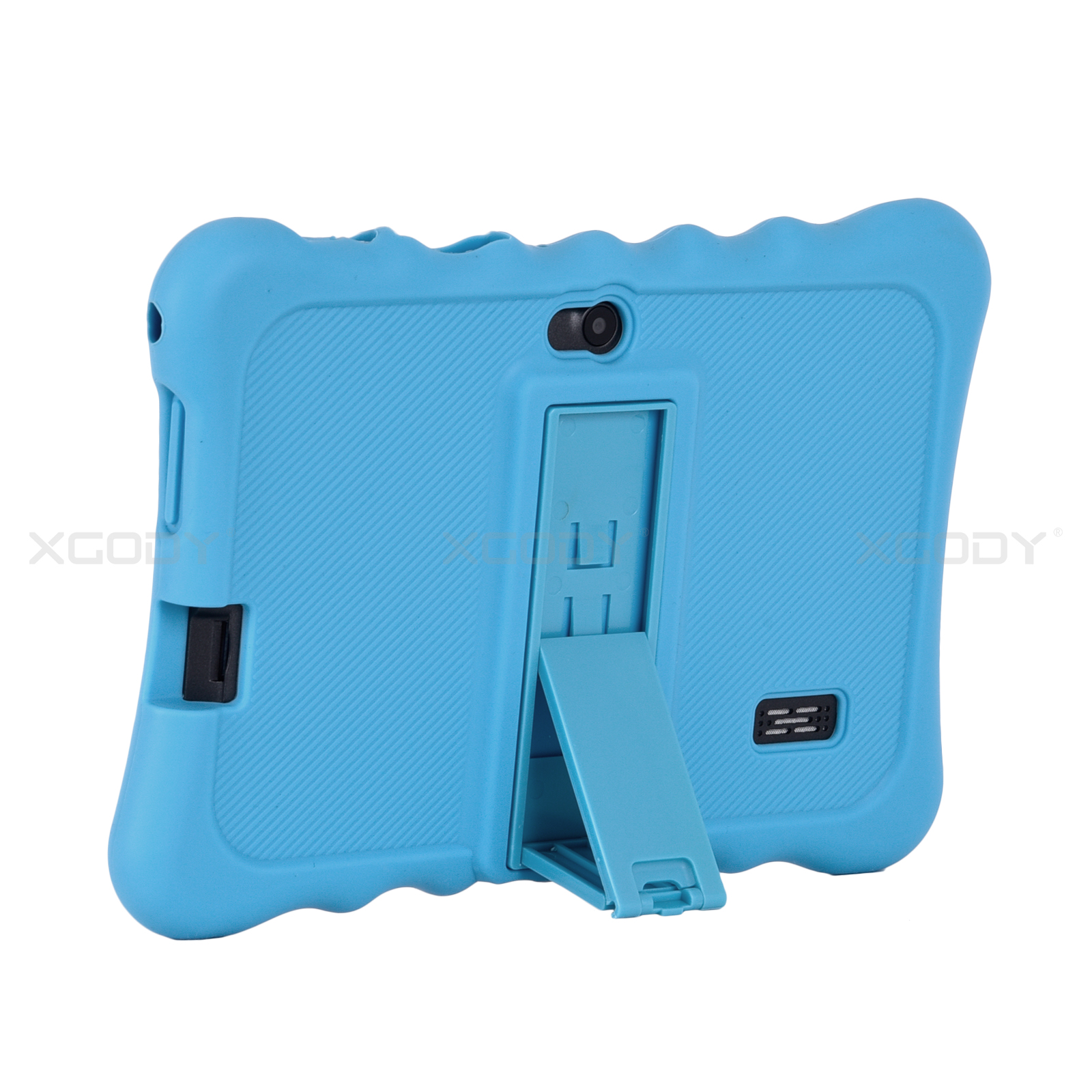 miniature 16 - For 7 inch Tablet Silicone Tablet Case Waterproof Shockproof Stand Cheap 4 Color
