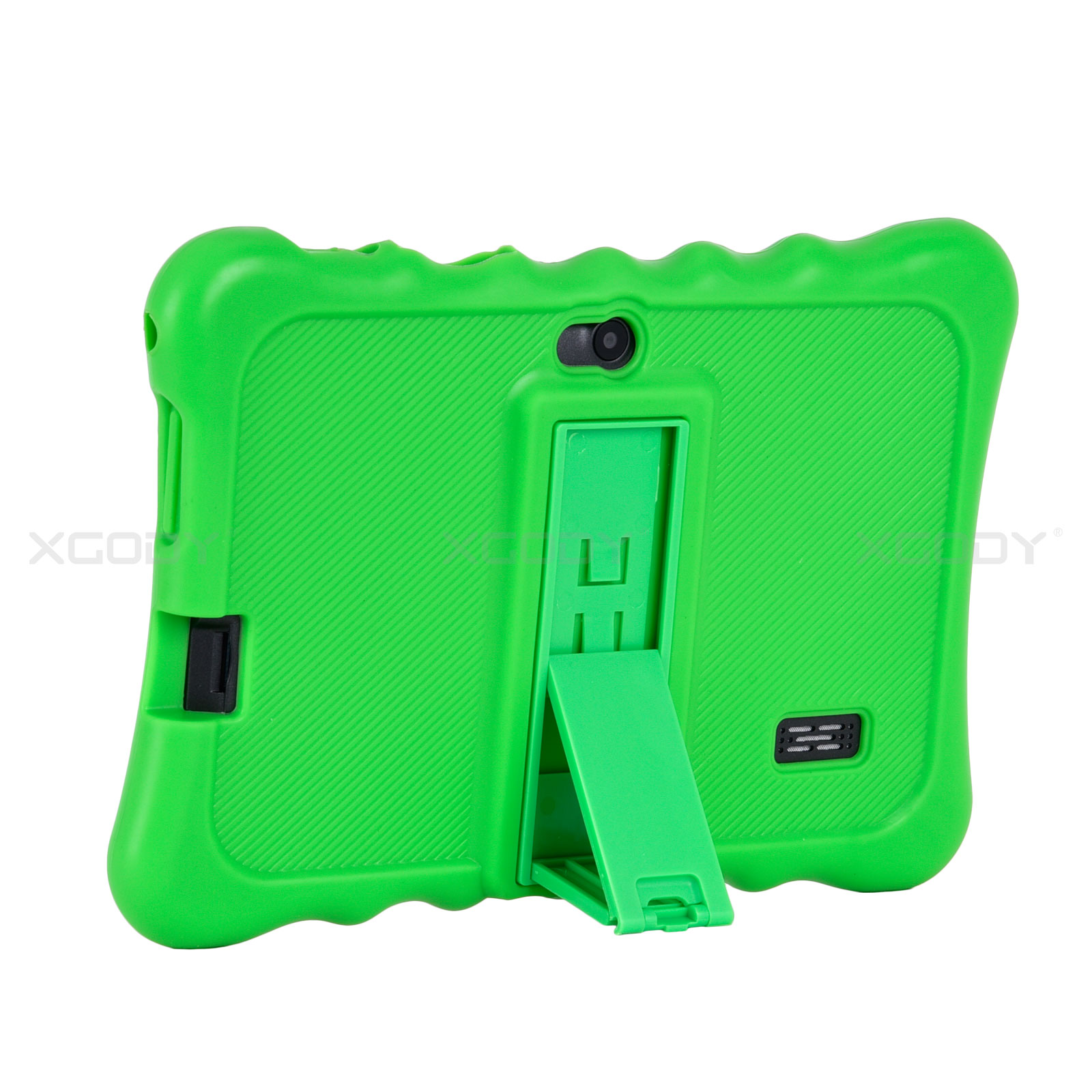 miniature 18 - For 7 inch Tablet Silicone Tablet Case Waterproof Shockproof Stand Cheap 4 Color