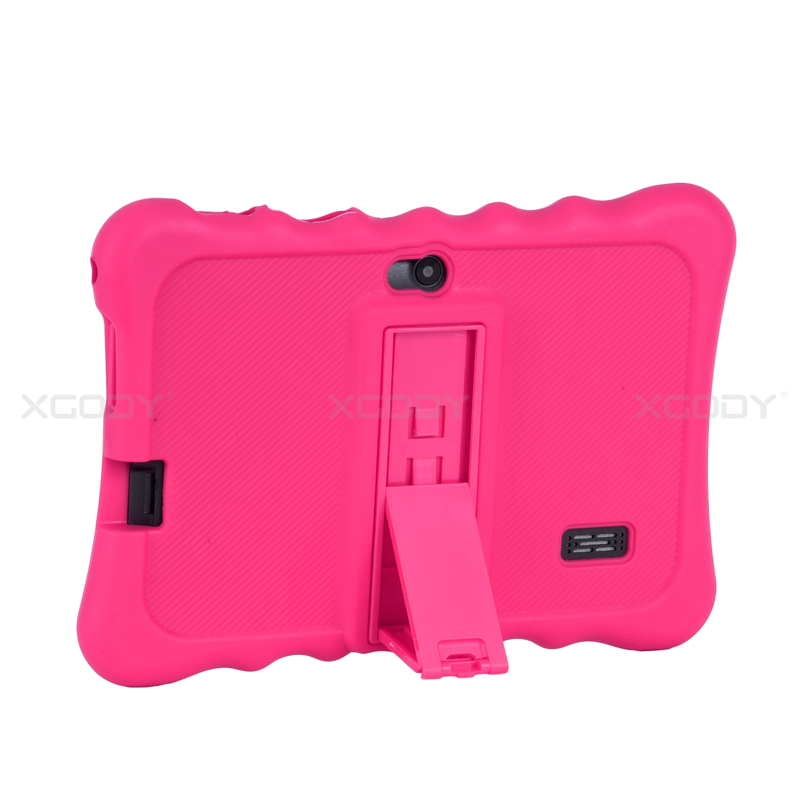 miniature 20 - For 7 inch Tablet Silicone Tablet Case Waterproof Shockproof Stand Cheap 4 Color