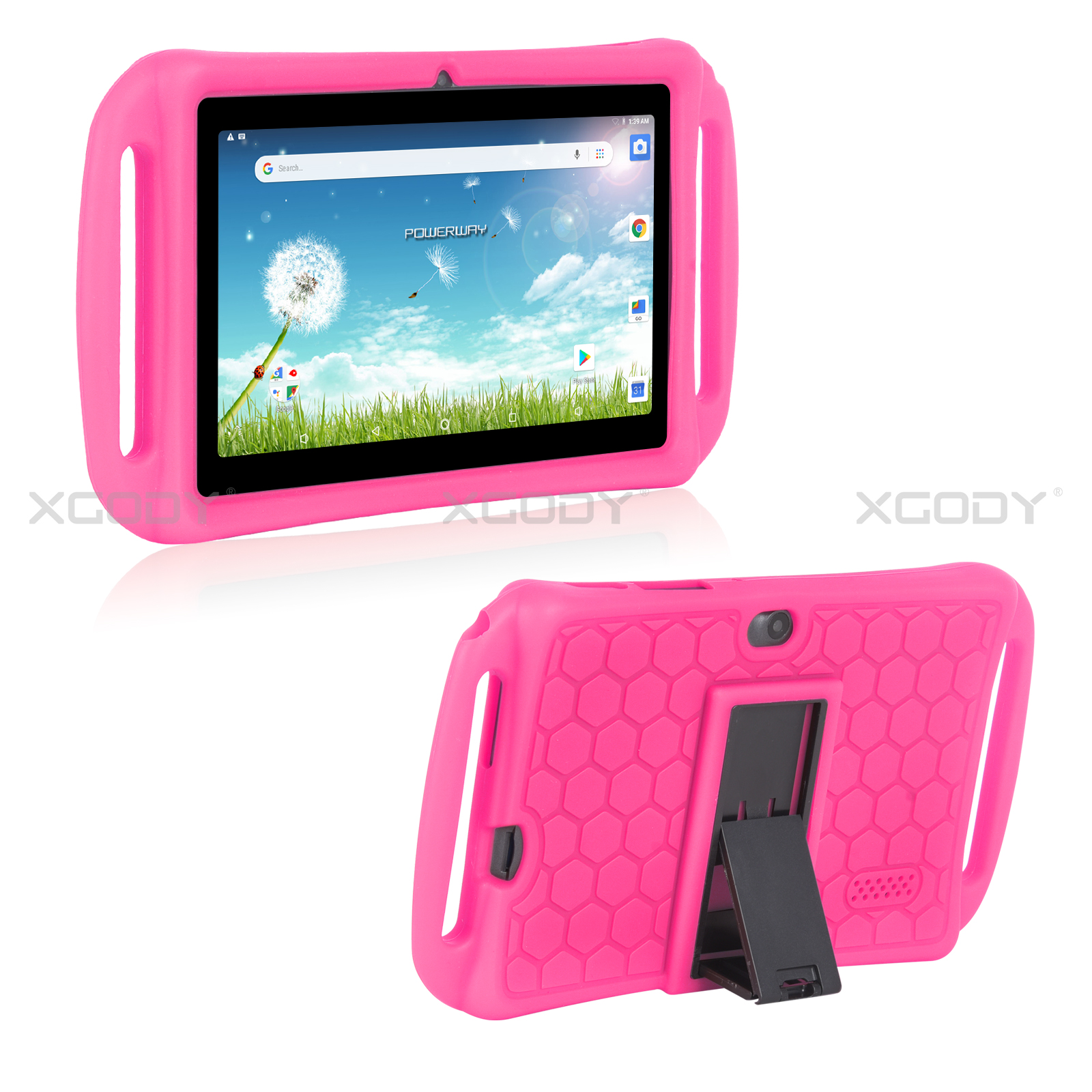 miniature 14 - For 7 inch Tablet Silicone Tablet Case Cover Waterproof Shockproof Cheap 2 Color