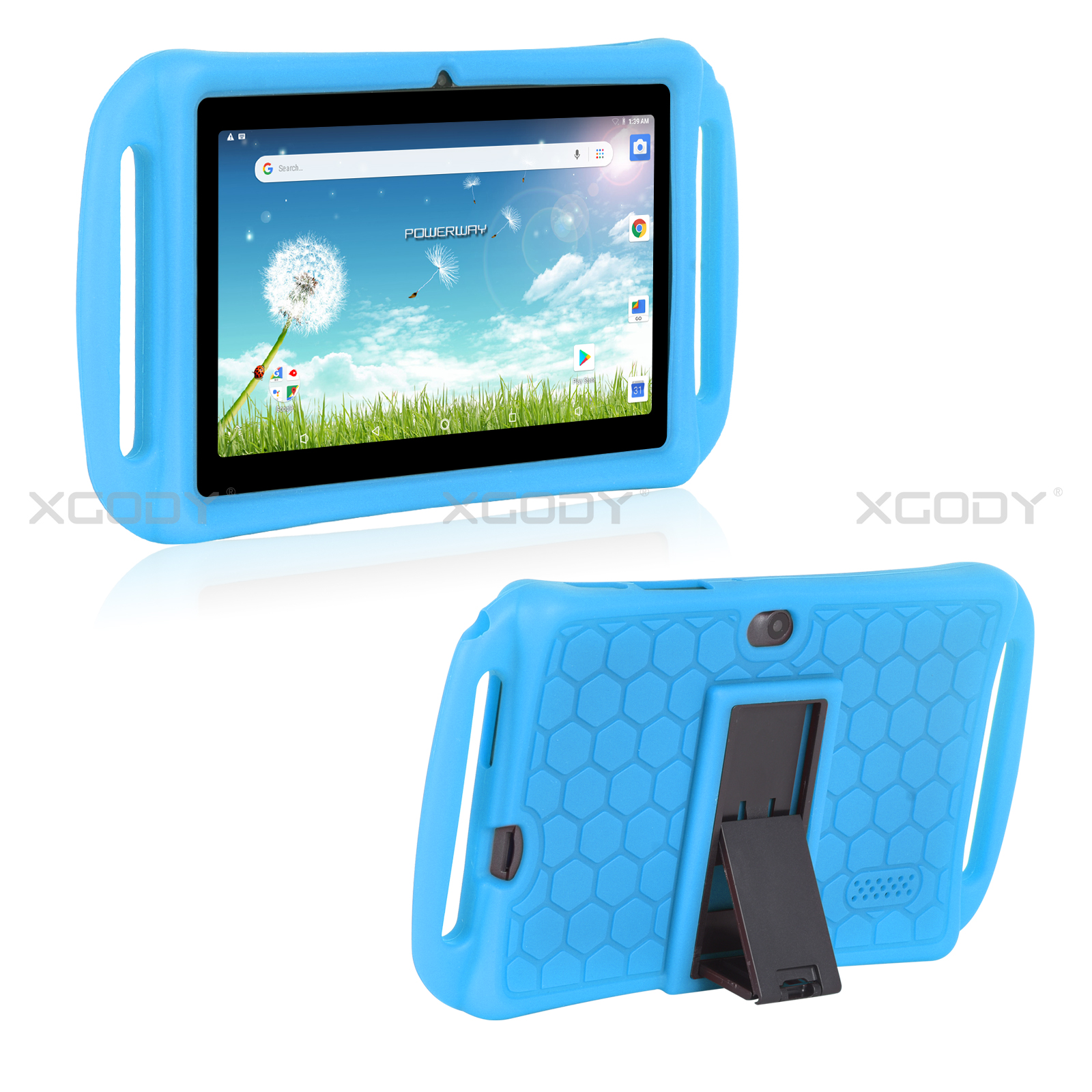 miniature 16 - For 7 inch Tablet Silicone Tablet Case Cover Waterproof Shockproof Cheap 2 Color